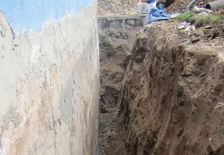 Basement Wall Crack Repair