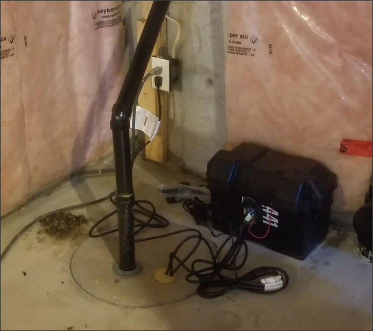 Primary Sump Pump With Battery Backup
